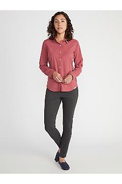 Women's BugsAway Rhyolite Long-Sleeve Shirt, White, medium