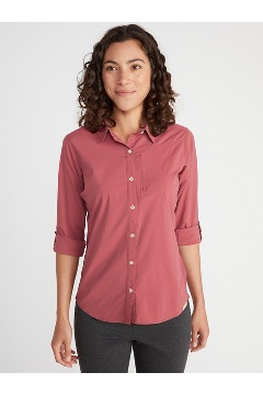 Women's BugsAway Rhyolite Long-Sleeve Shirt, Storm, medium
