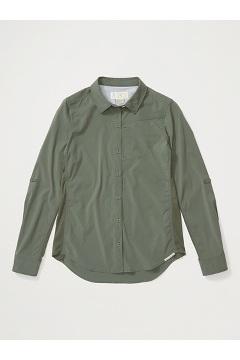Women's BugsAway Rhyolite Long-Sleeve Shirt, Crocodile, medium