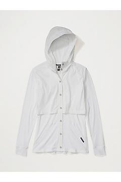 Women's BugsAway Tecopa Long-Sleeve Shirt, White, medium