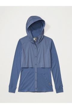 Women's BugsAway Tecopa Long-Sleeve Shirt, Storm, medium