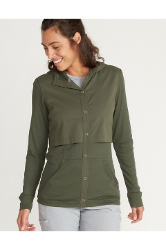 Women's BugsAway Tecopa Long-Sleeve Shirt, Nori, medium