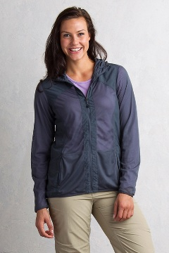 Women's BugsAway Damselfly Jacket, Carbon, medium