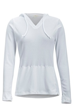Women's BugsAway Lumen Hoody, White, medium