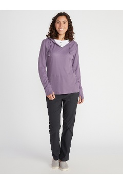 Women's BugsAway Lumen Hoody, Admiral Blue, medium
