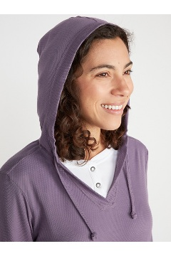 Women's BugsAway Lumen Hoody, Mulled Grape, medium