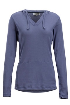 Women's BugsAway Lumen Hoody, Blue Heron, medium