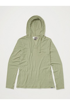 Women's BugsAway Lumen Hoody, Oil Green, medium