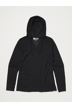Women's BugsAway Lumen Hoody, Black, medium