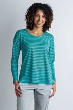 BugsAway Modena L/S Tunic, Saltwater Heather, medium