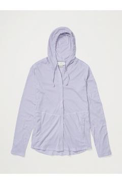 Women's BugsAway Lumen Full-Zip Hoody, Lavender Aura, medium
