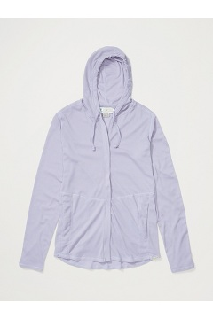 Women's BugsAway Lumen Full-Zip Hoody, Lavender Aura, medium