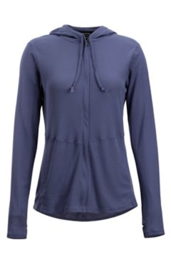 BugsAway Lumen Full Zip Hoody, Blue Heron, medium