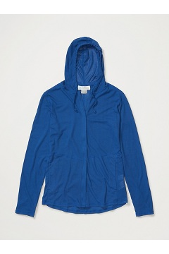 Women's BugsAway Lumen Full-Zip Hoody, Admiral Blue, medium