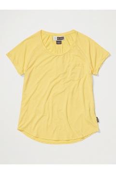 Women's BugsAway Caddis Short-Sleeve Shirt, Aspen Gold Heather, medium