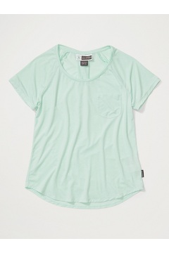 Women's BugsAway Caddis Short-Sleeve Shirt, Herbal Mist Heather, medium