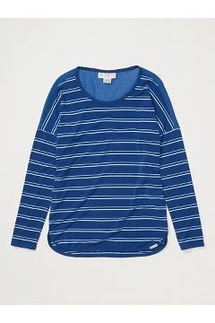 Women's BugsAway Wanderlux Cianorte Long-Sleeve Shirt, Admiral Blue, medium