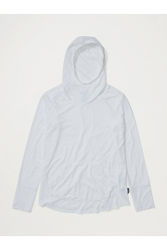 Women's Areia Hoody, White, medium