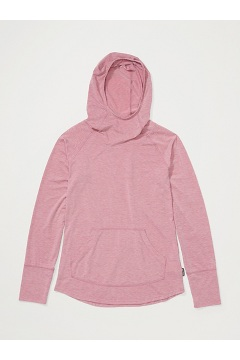 Women's BugsAway Areia Hoody, Tea Rose Heather, medium