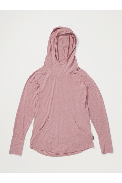 Women's Areia Hoody, Vineyard Heather, medium