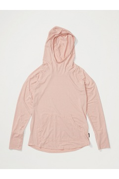 Women's Areia Hoody, Ballet Heather, medium
