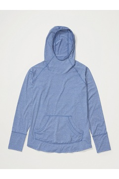 Women's Areia Hoody, Admiral Blue Heather, medium
