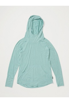 Women's Areia Hoody, Trellis Heather, medium