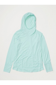 Women's BugsAway Areia Hoody, Herbal Mist Heather, medium