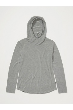 Women's BugsAway Areia Hoody, Nori Heather, medium