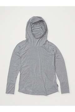 Women's Areia Hoody, Carbon Heather, medium