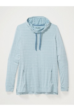 Women's BugsAway Sol Cool Kaliani Hoody, Blue Star Heather, medium