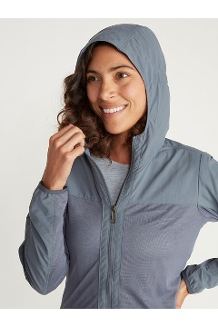 Women's BugsAway Damselfly Jacket, Platinum, medium