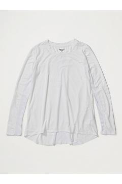 Women's BugsAway Wanderlux Serra Long-Sleeve Shirt, White, medium