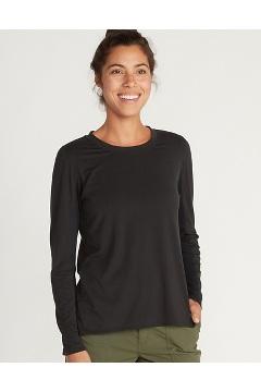 Women's BugsAway Wanderlux Serra Long-Sleeve Shirt, Black, medium
