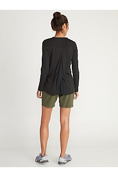 Women's BugsAway Wanderlux Serra Long-Sleeve Shirt, Black, medium