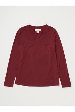 Women's BugsAway Wanderlux Iringa UPF 50 Long-Sleeve Shirt, Vineyard, medium
