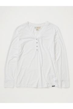 Women's BugsAway Wanderlux Arusha UPF 50 Long-Sleeve Shirt, White, medium