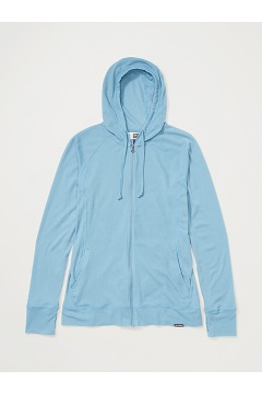 Women's BugsAway Lumen Full-Zip Hoody, Blue Star, medium