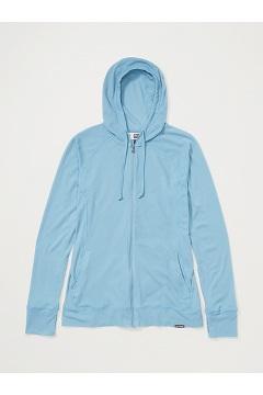 Women's BugsAway Lumen Full-Zip Hoody, Blue Star, medium