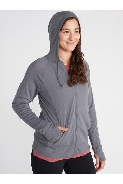 Women's BugsAway Lumen Full-Zip Hoody, Steel Onyx, medium