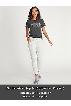 Women's BugsAway Della Jogger Pants, Platinum, medium