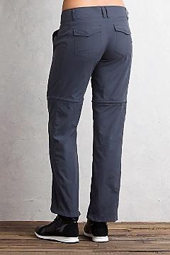 Women's BugsAway Sol Cool Ampario Convertible Pants - Petite, Carbon, medium
