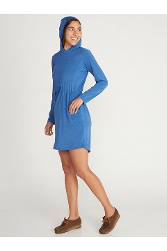 Women's BugsAway Sol Cool Kaliani Dress, Admiral Blue Heather, medium