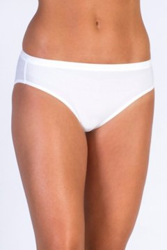 Give-N-Go Bikini Brief, White, medium