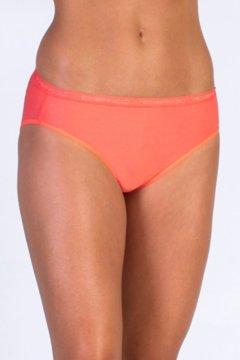Give-N-Go Bikini Brief, Hot Coral, medium