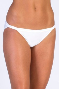 Give-N-Go String Bikini, White, medium