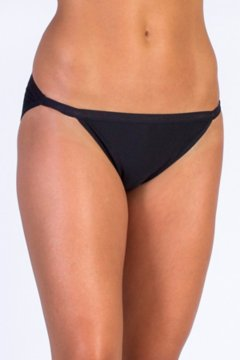 Give-N-Go String Bikini, Black, medium