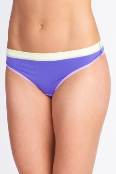 Give-N-Go Sport Mesh Thong, Blue Iris, medium