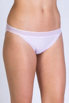 Give-N-Go Lacy Low Rise Bikini Brief, Lt Grape, medium