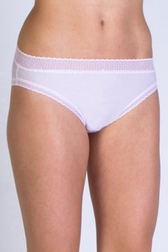 Give-N-Go Lacy Bikini Brief, Lt Grape, medium
